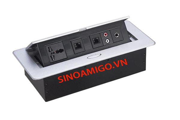 Hộp ổ cắm âm bàn SINOAMIGO STS-201