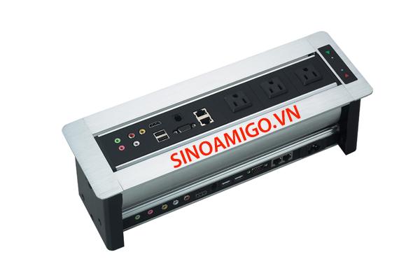 Hộp ổ cắm âm bàn SINOAMIGO STS256